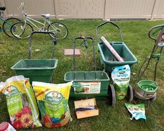 WE HAVE ALL YOUR GARDEN EQUIPMENT.....COME SEE !!