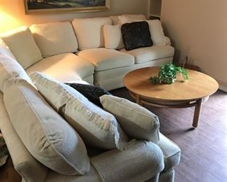 sectional, couch, coffee table