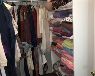 clothing, sweaters, jackets, pants