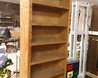 Only 3 of these custom made bookshelves left!  SOLID WOOD
