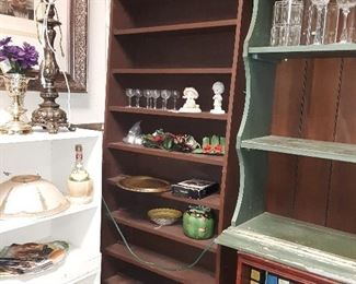 """Nice display unit with 6"""" shelf depth... holds lots of collectibles"""