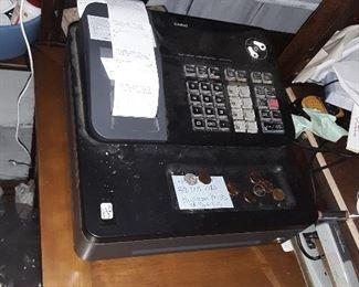 Casio register....