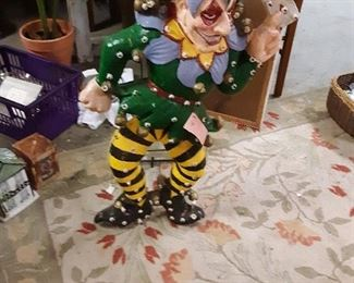 Creegans Clown.... too scary for me!  Lights and dances!
