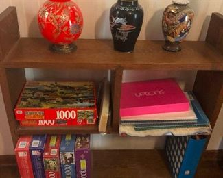 board games and puzzles! Dazzle your house guests