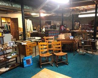 Wow this is a basement full o' stuff!