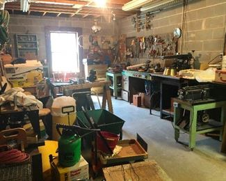 Holy Cow! LOOKIT this basement! There's MACHINERY in here! You need this!