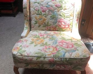 diminutive upholstered arm chair