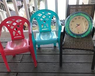 Children's deck furniture