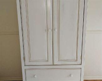 $75   White armoire