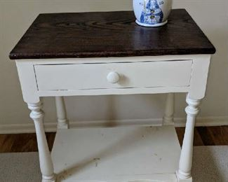 $25   Small, white table