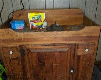 $50   Dry sink
