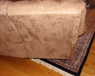 Matching reclining set of Sofa and Loveseat