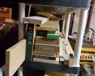 Lots of lumber!