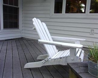Adirondack chair.