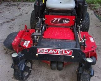ASKING $2,000.00 OBO-Gravely ZT HD 44 Zero Turn Mower (Kawasaki) MSRP: $4,999.95 Client paid $4,799 in 2011 plus tax.  Gravely ZT HD 44 Zero Turn Commercial-grade performance, durability and comfort. Our best zero-turn lawn mower for your residential property features easy-to-use controls, giving you the power to dominate your yard and achieve those stripes like a total pro.