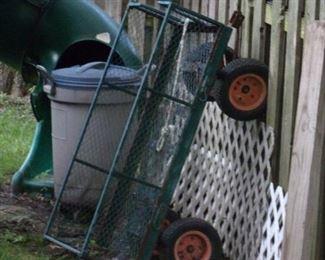 Gardening wagon.