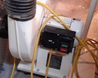 Dust Dog V-filter system.