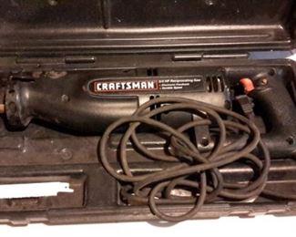 Craftsman 3/4 HP reciprocating saw, in box.