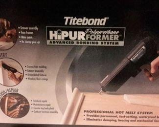 Titebond HiPur advanced bonding system, like new, in box.