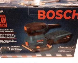 Bosch sander.