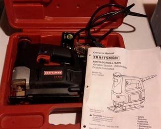 Craftsman Auto Scroll Saw, in box.