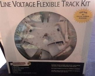 Line Voltage Flexible Track Kit, new in box.