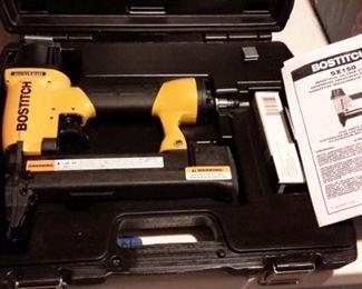 Bosch industrial oil free stapler, like new, in box.