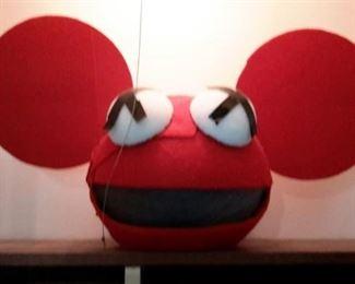 Deadmou5 costume head!!
