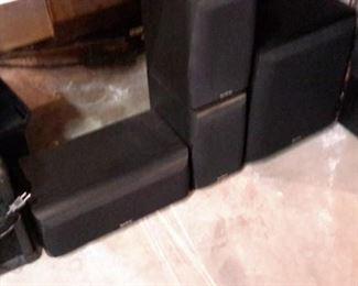 Infinity speaker system.