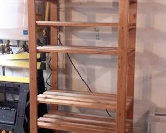 Wood shelving (2).