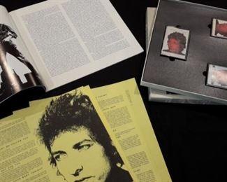 "Bob Dylan ""biograph"" 3 cassette deluxe edition."