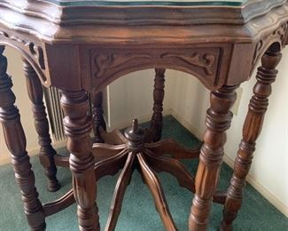 Beautiful carved antique table