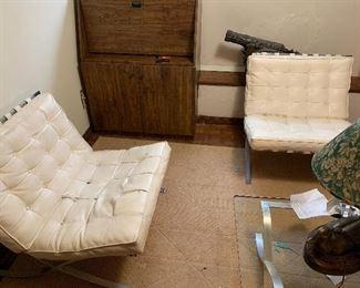 Modern leather seats