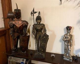 Decorative Metal warriors