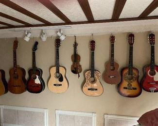 Restored guitars