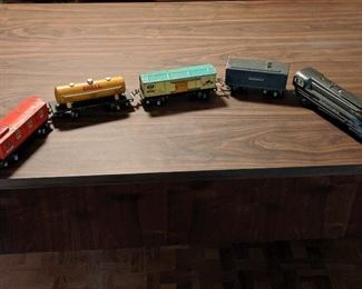 Vintage LIONEL trains. Tracks and transformer included. Great condition. Details will be updated before the sale.