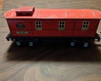 Part of complete vintage LIONEL train set.