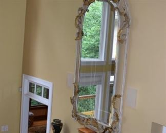 Large Ornate Vertical Mirror