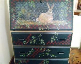 More handpainted furniture