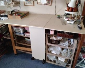 foldable sewing table
