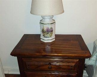 Lamp & Nightstand