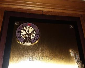 Elks Lodge Plaque