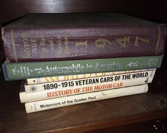 Assorted Car Books