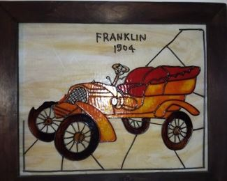 Car Stained Glass Panel