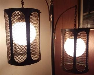 Mid-Century Modern Floor Lamp (As Seen On That 70's Show!)