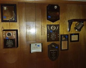 Assorted Elks Lodge Wall Plaques