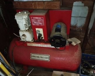 Sterling-Packard Air Compressor