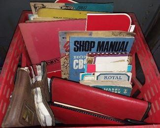 Assorted Car Manuals