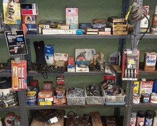 Assorted Car Parts & Hand Tools