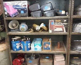 Assorted Car Parts & Tools